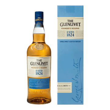 THE GLENLIVET FOUNDER'S RESERVE SINGLE MALT WHISKY 70CL