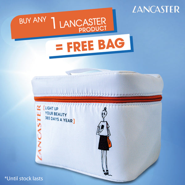 Free Vanity with any purchase of 1 Lancaster item - Until Stock Lasts