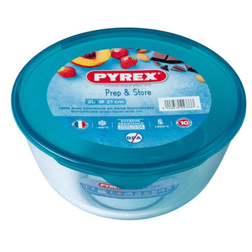 PYREX MIXING BOWL WITH LID - 2 sizes available
