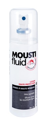 GIFRER MOUSTIFLUID SPRAY ANTI-MOUSTIQUES HAUT RISQUE 100ML