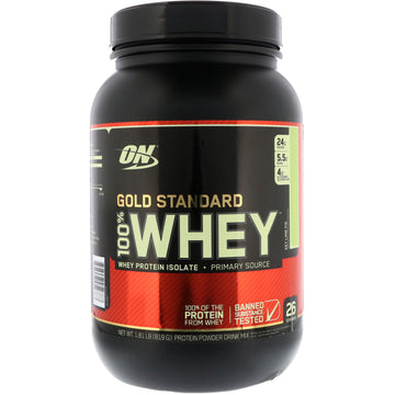 ON GOLD STANDARD  100%  WHEY  2LBS  - 6 flavours