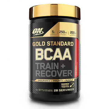 ON GOLD STANDARD BCAA TRAIN & RECOVER 28 SERVS/280G