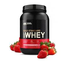 ON GOLD STANDARD 100%  WHEY STRAWBERRY 2 LBS