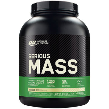 ON SERIOUS MASS 6LBS VANILLA