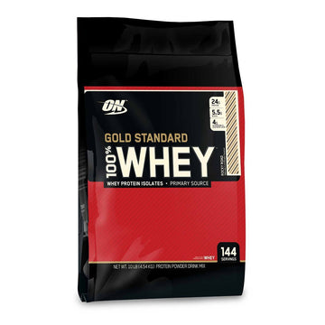 ON GOLD STANDARD  100%  WHEY  10LBS  - 3 flavours