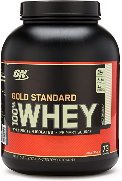 ON GOLD STANDARD 100% WHEY 5LBS - 6 flavours available