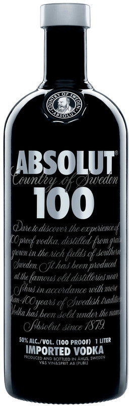 ABSOLUT 100 VODKA 100CL