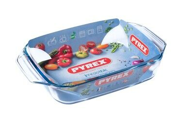 PYREX RECTANGULAR ROASTER 35X23 3.1L