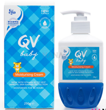 QV BABY MOISTURISING CREAM PUMP - 2 Formats Available