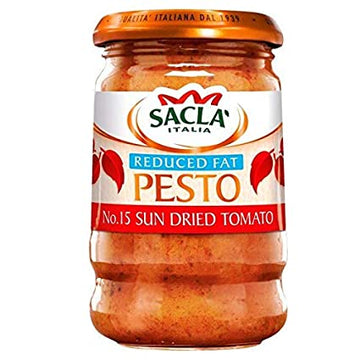 SACLA REDUCED FAT TOMATO PESTO 190G