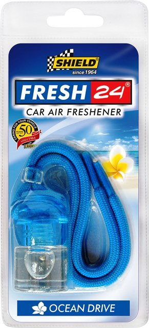SHIELD  AIR FRESHENER FRESH 24 - 3 Scents