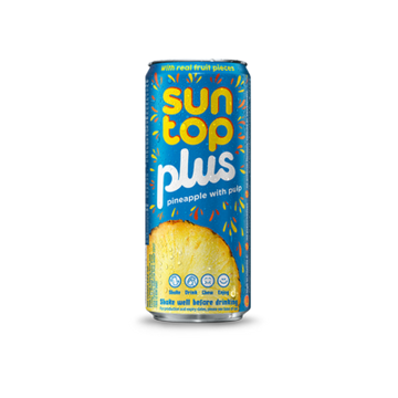 SUNTOP PLUS PINEAPPLE 240ML
