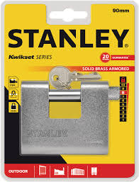 STANLEY LOCK S742024 STEELARMORED90