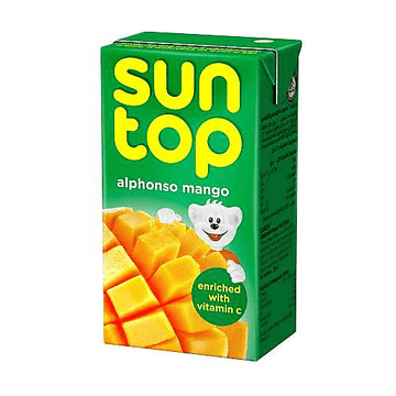 SUNTOP JUICE 125ML - 3 different flavours