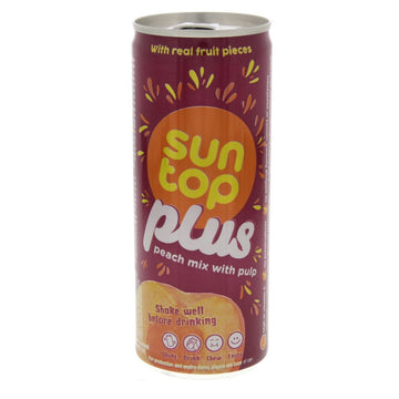 SUNTOP PLUS PEACH 240ML