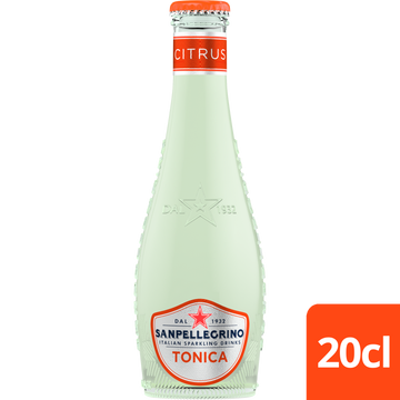 SANPELLEGRINO TONICA CITRUS 200ML (Pack of 4)