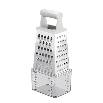 TESCOMA GRATER WITH CONTAINER