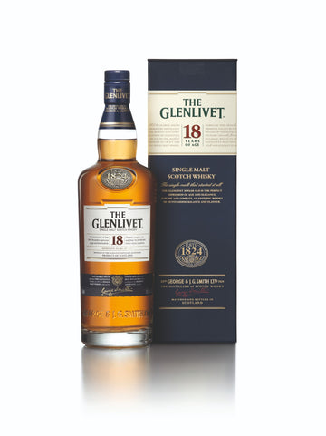 THE GLENLIVET 18 YO WHISKY 100CL