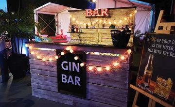 Gin Bar Service 3-Hours - 70,000 Points