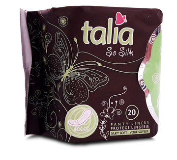 TALIA SO SILK PANTY LINERS 20 Per pack