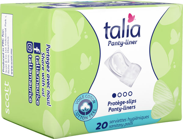 TALIA ULTRA THIN PANTY LINERS POLY 20 Per pack