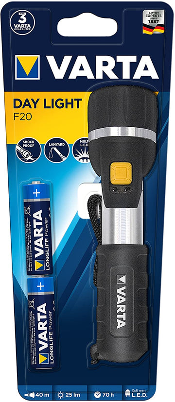 Varta LED Day Light  AA*2 (Batteries Incl.)