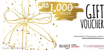 Gift Voucher / Gift Card - Scott Home Delivery & Thewinestore Boutiques