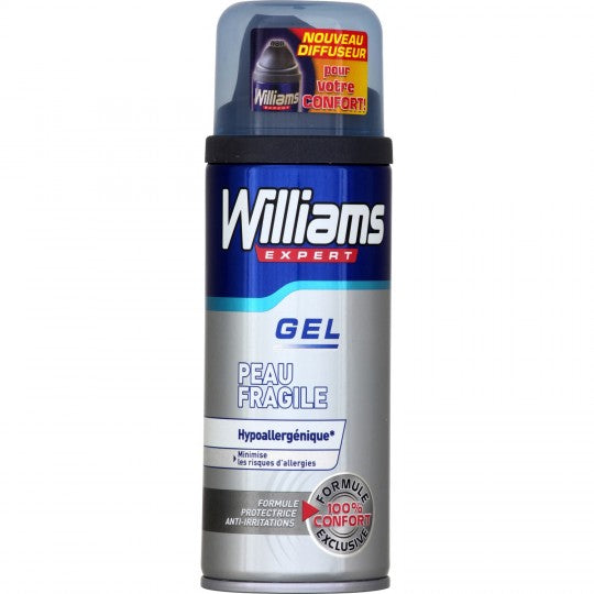 WILLIAMS GEL A RASER 200ML