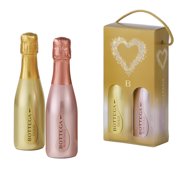 BOTTEGA COFFRET GLAMOUR - BOTTEGA GOLD 20CL & BOTTEGA GOLD ROSE 20CL