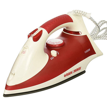 BLACK + DECKER- Steam Iron 1450W - X750R