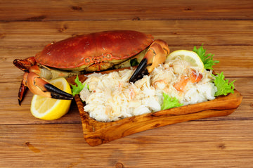 SHORE MARINER - Frozen Cooked Crab Meat Lump 450g