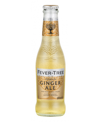 FEVER TREE GINGER ALE 200ML (Pack of 6)