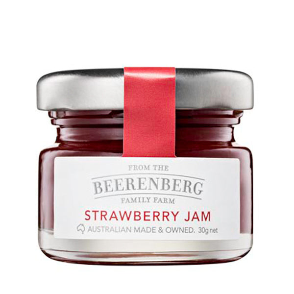 BEERENBERG STRAWBERRY JAM 30G (Pack of 12) (Best Before 13.11.20)