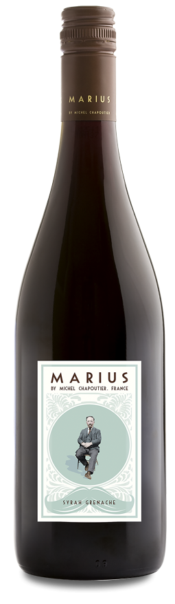 MARIUS BY CHAPOUTIER SYRAH GRENACHE 2018