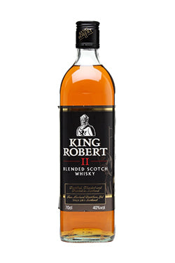 KING ROBERT II WHISKY 70CL