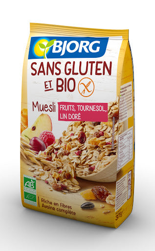 BJORG SG MUESLI FRUITS 375G (Best Before: 28.01.2021)
