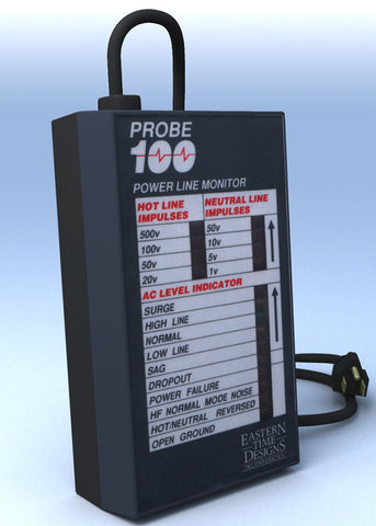 Probe 100 Plus 120V AC Power line monitor