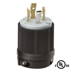 NEMA L15-30P Locking Plug 250V, 30A, 3 Phase