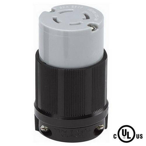 NEMA L15-30C Locking Receptacle 250V, 30A, 3 Phase
