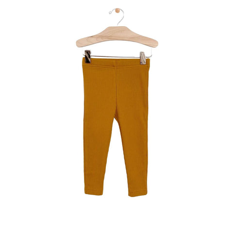 Big Rib Legging-Honey