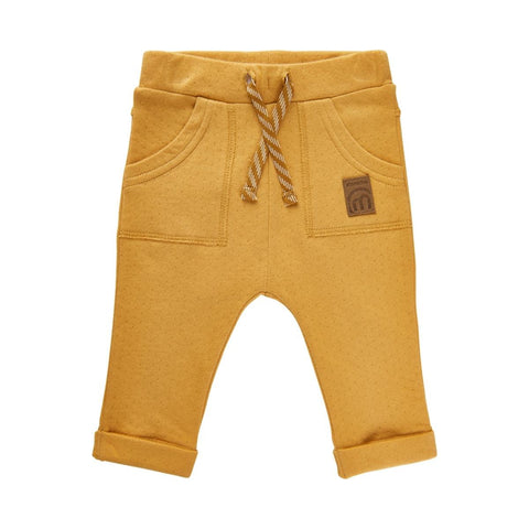 Double Knit Pants-Amber Gold