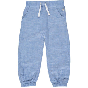 BOSUN gauze pants-pale blue