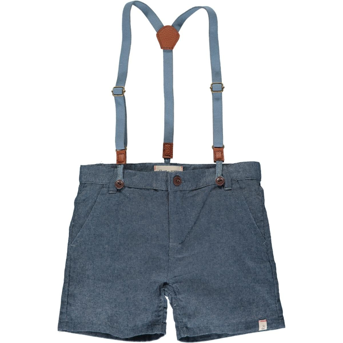 CAPTAIN shorts with suspenders