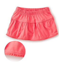 Pom Pom Trim Ruffled Bloomers