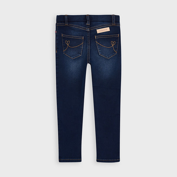 Long Denim Pant Girl/Dark Wash