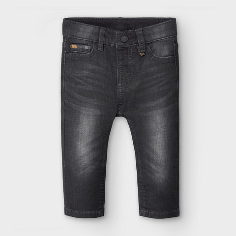 Soft Denim Pant Baby/Black