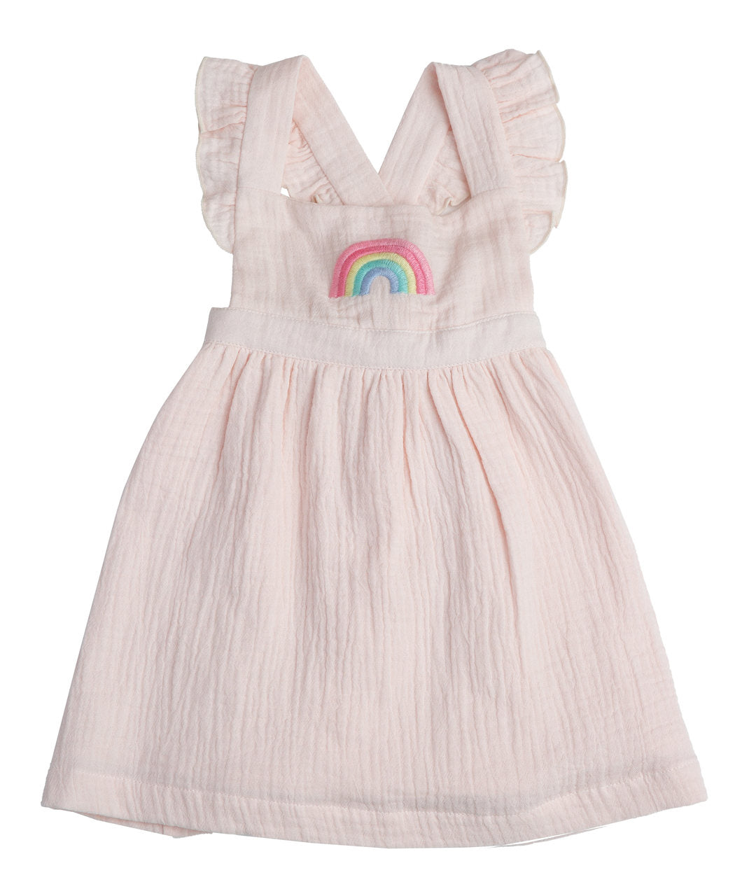 RAINBOWS PINAFORE TOP & BLOOMER