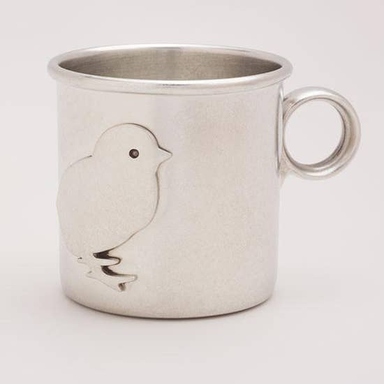 PEWTER CUP/CHICK