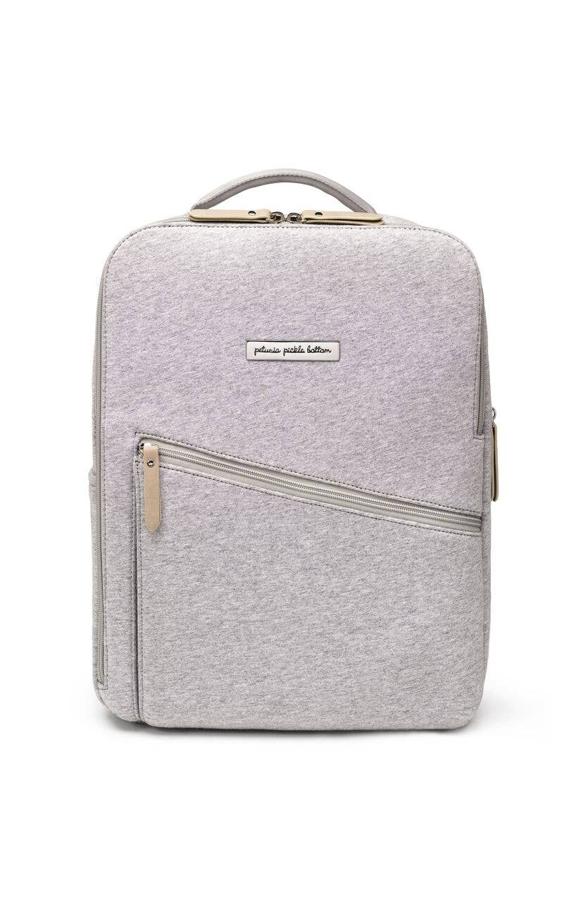 Grey Neoprene - Work and Play Backpack -