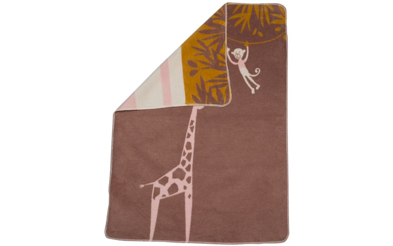 Maja Blanket/Giraffe/Milk Chocolate